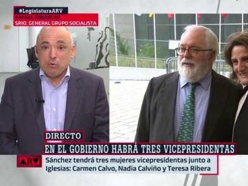 """Rafael Simnacas defiende la vicepresidencia de Teresa Ribera """"para uno de los grandes retos del país"""""""