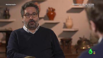 """La tajante respuesta de Gonzalo Fanjul a Ortega Smith: """"Prefiero una tuberculosis a las enfermedades que trae a la sociedad Vox"""""""