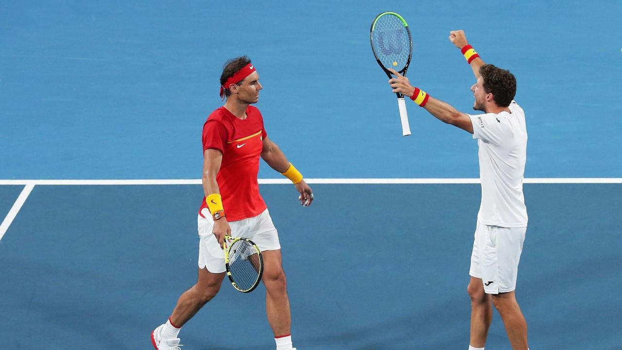 Nadal y Carreño pasan a España a semifinales