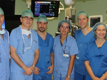 Equipo del Hospital Clínico San Carlos en Madrid