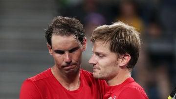 Nadal pierde en la ATP Cup ante Goffin