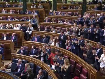 Imagen de la derecha en el Congreso
