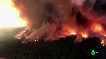 Incendio en Australia