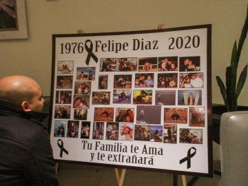 Imagen del homenaje realizado al chef Felipe Antonio Díaz Zamora.