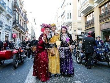 Las tres Reinas Magas de Valencia