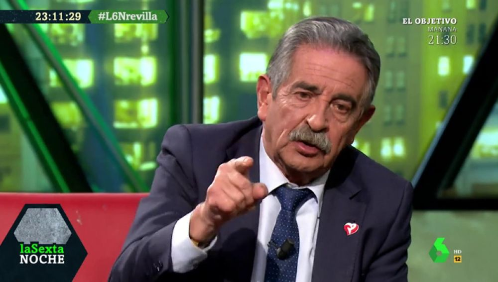 """El tajante mensaje de Revilla a Sánchez: """"Pedro, por dignidad y por gobierno moral, no nos metas en ese lío"""""""