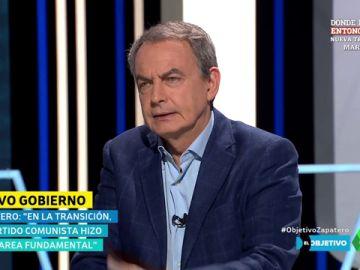 """Zapatero: """"El mensaje de 'vuelven los comunistas' me preocupa, hicieron una labor fundamental en la Transición"""""""