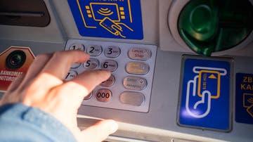 Imagen de archivo de un cajero automático.