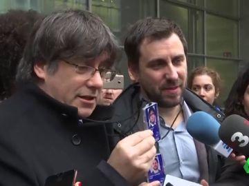 Toni Comín afirma que Puigdemont y él participarán en el pleno del Parlamento Europeo e intervendrán varias veces