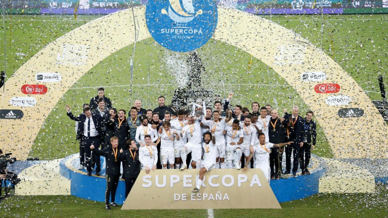 El Real Madrid gana la Supercopa de España