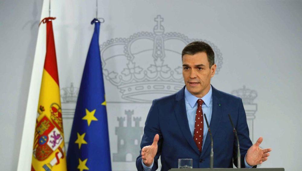 Pedro Sánchez comunica la composición de su Gobierno