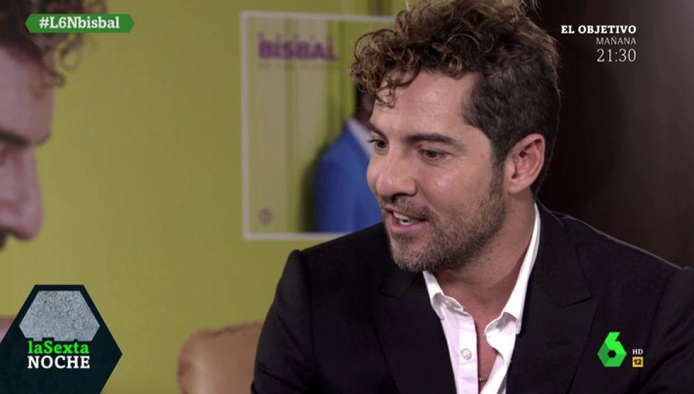 """David Bisbal: """"Las canciones no solamente se cantan, también se cuentan para poder llegar a la gente"""""""