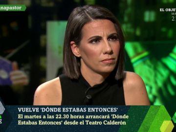 Del 11S a la ley antitabaco o la victoria de España en el Mundial: Ana Pastor explica qué veremos en la nueva temporada de Dónde estabas entonces
