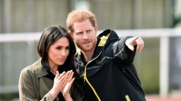 El príncipe Harry y Meghan Markle (Archivo)