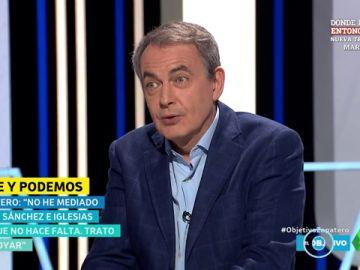 Zapatero niega haber mediado entre Sánchez e Iglesias para el acuerdo de Gobierno