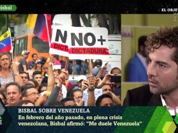"""David Bisbal muestra su preocupación por Venezuela: """"No concibo cómo están en esa situación"""""""