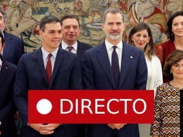 Toma de posesión de los ministros del Gobierno de Pedro Sánchez | Puigdemont y Comín en Estrasburgo, última hora en directo