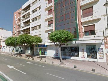 Avenida España de Estepona, la calle en la que ocurrieron los hechos