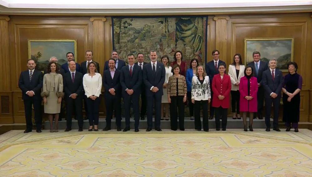 Vídeo | Toma de posesión de los ministros y vicepresidentes