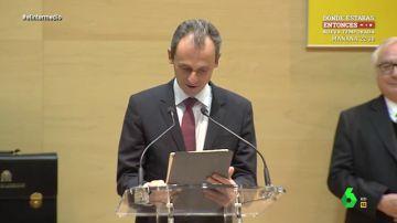 """Dani Mateo, 'preocupado' por el nombramiento de Pedro Duque: """"¿Puede ser ministro de Ciencia si tiene problemas para manejar un iPad?"""""""