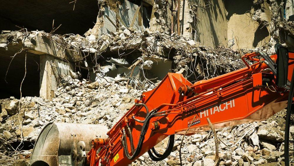 Los escombros aprueban como materia prima para carreteras