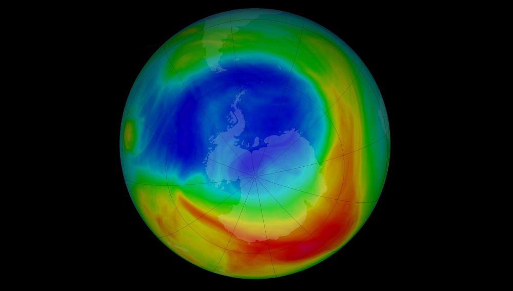 El yodo contribuye a la destruccion de la capa de ozono