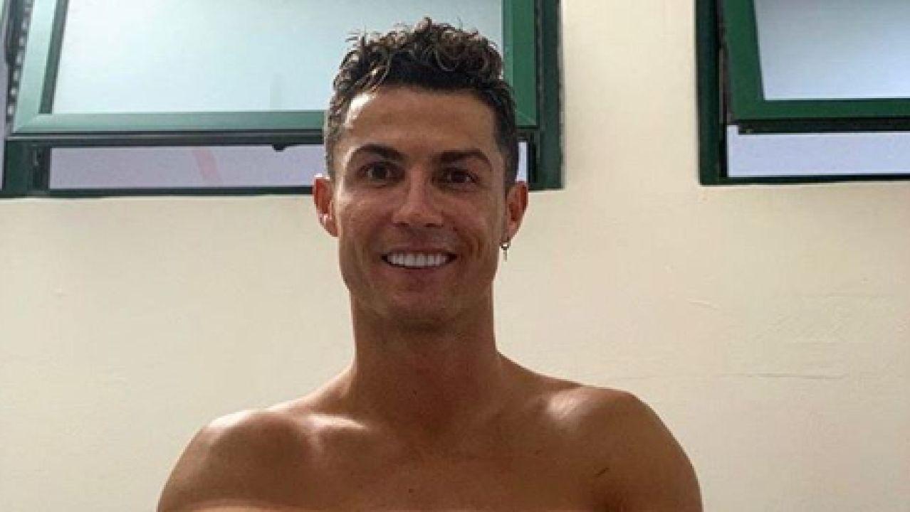 Cristiano Ronaldo, durante una sesión de recuperación