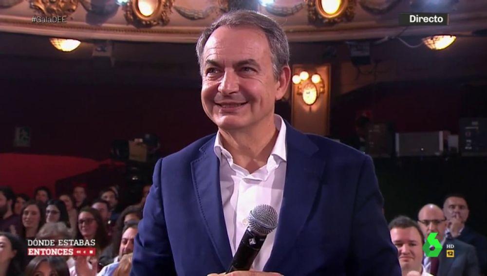 """""""Así empiezan los idilios"""": la divertida química entre José Luis Rodríguez Zapatero y Brays Efe"""