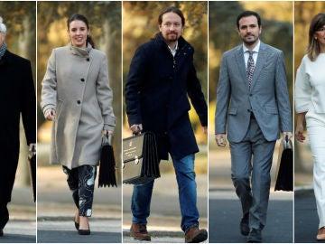 Los miembros de Unidas Podemos que poseen cargos dentro del Gobierno de coalición
