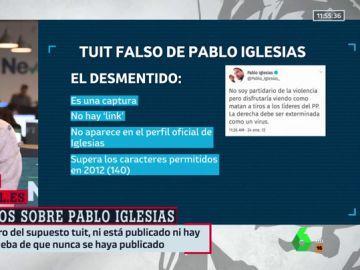 """No, Pablo Iglesias jamás afirmó que """"exterminaría a la derecha"""": desmontamos los primeros bulos sobre el nuevo Gobierno"""