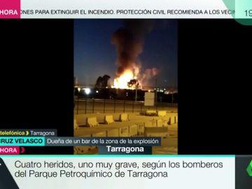 """Hablan testigos de la explosión Tarragona: """"Ha hecho vibrar la casa entera"""""""