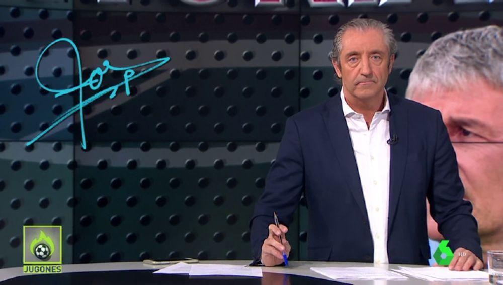 """Josep Pedrerol: """"Felicidades a Setién por ser tan elegante con Valverde. Que aprenda Bartomeu"""""""