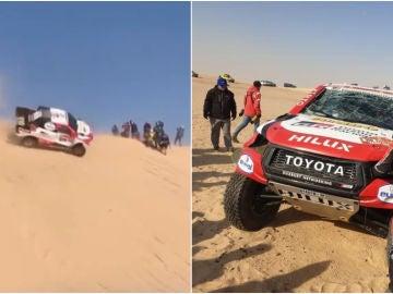 El accidente que ha sufrido Fernando Alonso en el Dakar
