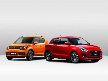 Suzuki Ignis y Swift