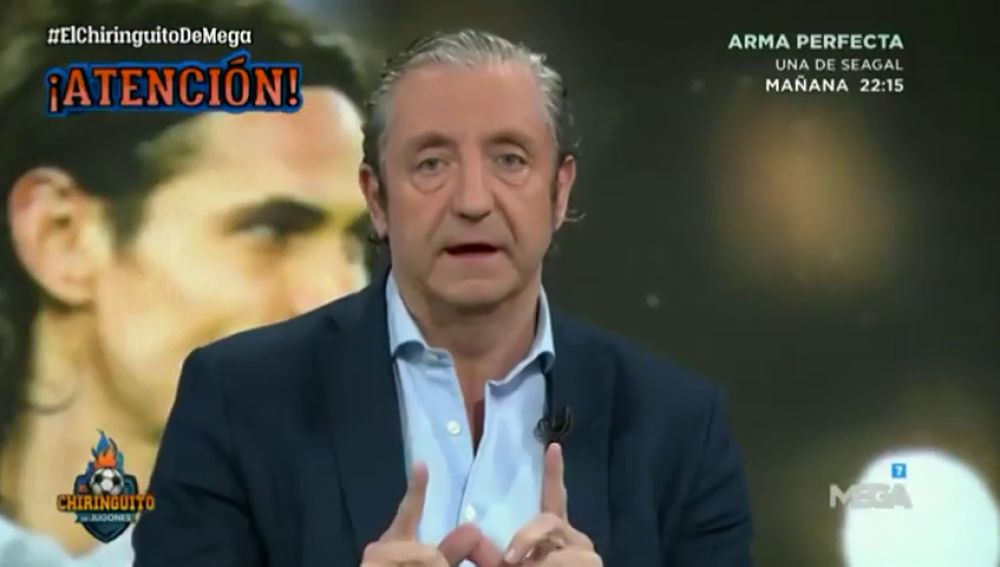 """Josep Pedrerol desvela el órdago de Cavani al PSG: """"Quiere ir al Atleti ya"""""""