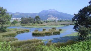 Imagen de archivo de las marismas de Santoña