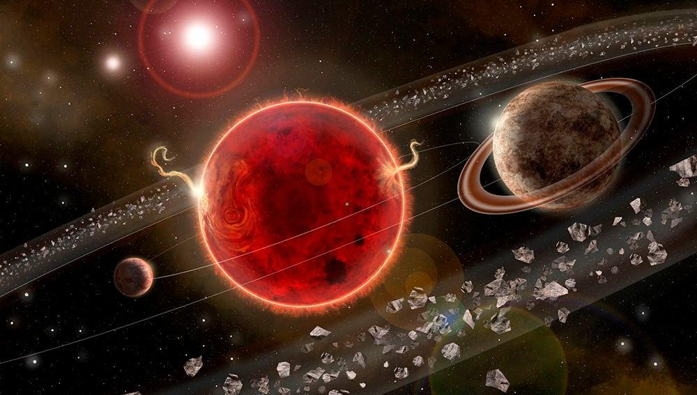 Indicios de un segundo planeta alrededor de la estrella mas cercana