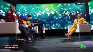 Estopa canta a Ana Pastor