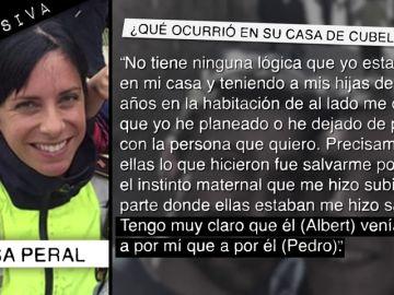"""Rosa Peral apunta a su examante en el crimen de la Guardia Urbana: """"Albert guardó a Pedro como 'hijo de puta' en el móvil"""""""