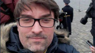 El periodista español Manuel Regalado