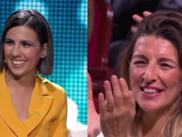 Ana Pastor y Yolanda Díaz