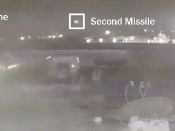 El vídeo que muestra la existencia de dos misiles