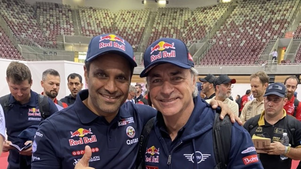 Nasser y Peterhansel admiten que Sainz va a ganar