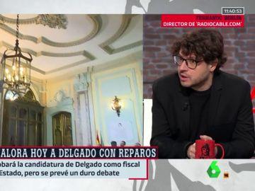 """Fernando Berlín: """"No hay que ser muy avispado para ver que el CGPJ tiene un escoramiento a la derecha"""""""