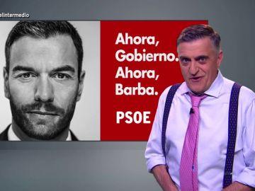 """""""Ahora Gobierno, ahora barba"""": la campaña de El Intermedio"""