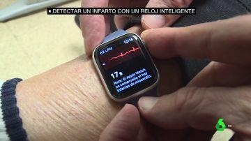 Detectar un infarto con un reloj inteligente