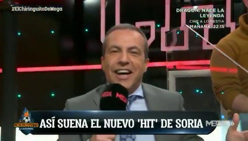 Cristóbal Soria da un adelanto de su nuevo 'hit' que será viral: Hazard, protagonista