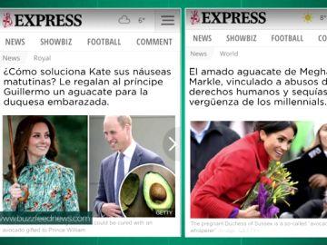 """Meghan y Kate Middleton: los titulares que demuestran cómo los medios ingleses se """"la han tenían jurada a Markle"""""""