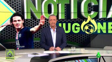 "Cavani deja clara su postura al PSG: ""Me quiero marchar"""