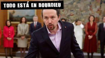 Pablo Iglesias prometiendo como ministro